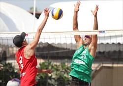 پایان کار ساحلی بازان ایران در قهرمانی آسیا