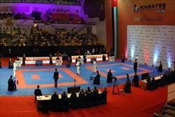چهار مدال کاراته کاهای ایران در لیگ جهانی امارات