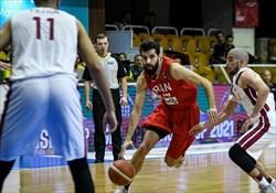 دومین پیروزی بسکتبالیست های ایران در انتخابی کاپ آسیا