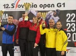 کسب مقام سومی تیم جاسترب در تورنمنت آزاد اسلونی