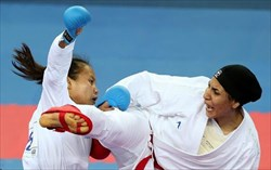 تلاش عباسعلی و عسگری برای طلای لیگ جهانی کاراته
