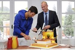 تولد 33 سالگی مرد شماره یک تنیس