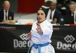 صادقی: تمام تلاشم را می کنم که جزو نفرات المپیکی کاراته باشم