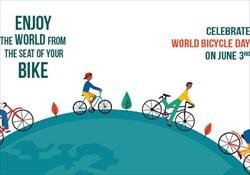 به مناسبت 3 ژوئن روز جهانی دوچرخه سواری