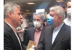 در حاشیه مراسم افتتاح تالار مشاهیر ورزش کشور