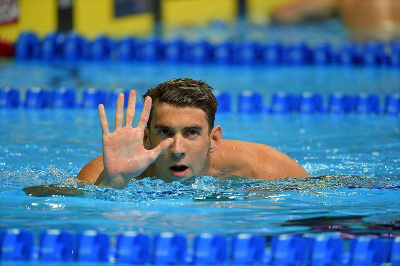 به مناسبت زادروز مایکل فلپس شناگر آمریکایی