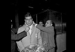 جهان پهلوان تختی ۶۸ سال قبل در چنین روزی نخستین مدال المپیک خود را به دست آورد.