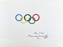 مزایده حلقه های المپیک پیر دوکوبرتن