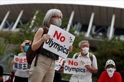 اعتراض ضد المپیکی در توکیو