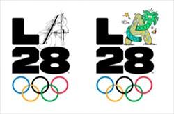 رونمایی از لوگوی دیجیتال لس آنجلس 2028