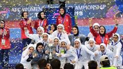 فوتسال زنان ایران بر بام آسیا و زیر پای مسئولان!