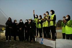 ممیزان ورزش زنان در صف اول عکس های یادگاری!