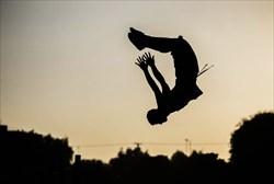پارکورکار جوان ایرانی قهرمان رقابتهای جهانی