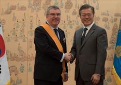 رئیس IOC برنده جایزه صلح سئول
