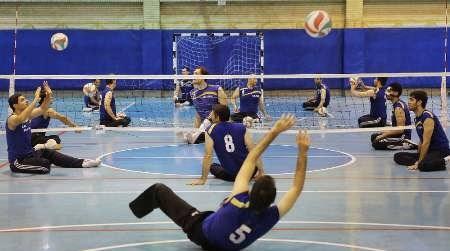 تیم والیبال نشسته از حضور در تورنمنت بینالمللی ترکیه بازماند