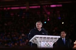 دریافت غیرحضوری جایزه صلح سئول توسط رئیس IOC