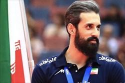 معرفی سعید معروف به عنوان بهترین بازیکن هفته در سایت FIVB