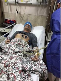 محمد بنا در بیمارستان بستری شد