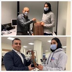 کمیته ملی المپیک از دو پزشک ایرانی تقدیر کرد