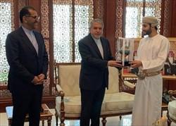 صالحیامیری با وزیر فرهنگ، ورزش و جوانان عمان دیدار کرد