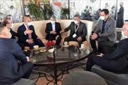 دیدار صالحیامیری با مسئولان ورزشی عراق در عمان