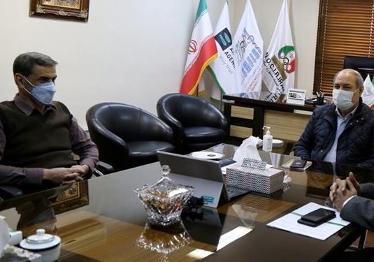 دیدار معاون وزیر ورزش با  نوروزی رئیس فدراسیون پزشکی