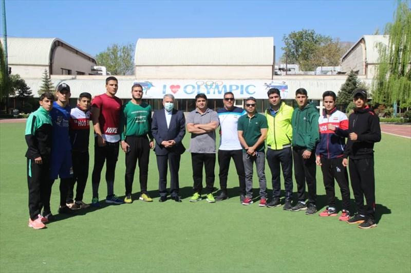 رئیس کمیته ملی المپیک از تمرینات تیم بوکس جوانان بازدید کرد