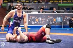 محمدیان سهمیه آزادکاران ایران در المپیک را کامل کرد