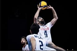 تیم والیبال ایران دهمین دیدارش در لیگ ملتها را به استرالیا واگذار کرد