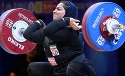 تاریخسازی دختر وزنه بردار ایرانی در صورت کسب سهمیه المپیک