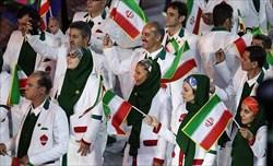 رژه کشورهای شرکت کننده در المپیک با دو پرچمدار زن و مرد