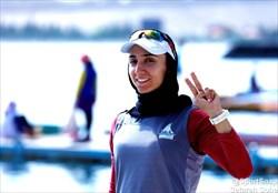 یک قایقران، آغازگر مسابقات کاروان ایران در المپیک توکیو