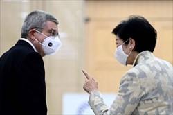 توماس باخ با شهردار توکیو دیدار کرد