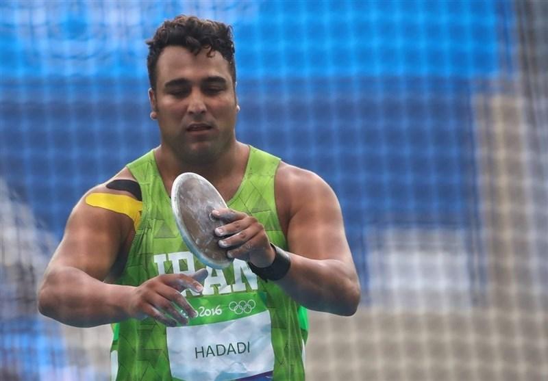 حدادی ۹ کمتر از ورودی المپیک پرتاب کرد