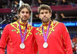 خداحافظی برادران گسول از بسکتبال اسپانیا