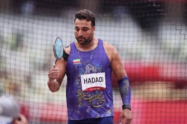 حدادی در لیگ بیشتر از المپیک پرتاب کرد