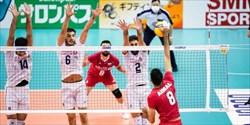 والیبال ایران رتبه نخست آسیا